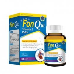 Viên uống bổ tim mạch Lafon FonQ10 30 viên