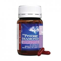 Viên uống cho bà bầu bổ sung Omega 3 Max Biocare PM Procare Diamond 30 viên