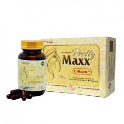 Viên uống đẹo da Pretty Maxx Cellagen Tất thành, Hộp 30 viên