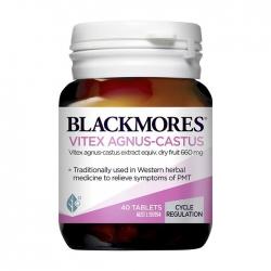 Viên uống điều tiết nội tiết tố nữ Blackmores Vitex Agnus Castus 40 Viên