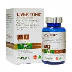 Viên uống giải độc gan Careline Liver Tonic, Chai 60 viên