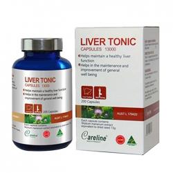 Viên uống giải độc gan Careline Liver Tonic, Chai 200 viên