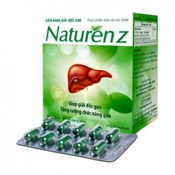 Viên uống giải độc gan DHG Naturen Z, Hộp 100 viên