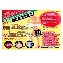 Viên uống giảm cân 10kg và Minami Healthy Foods