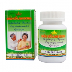 Viên Uống Giảo Cổ Lam Extra Kingphar 60 viên
