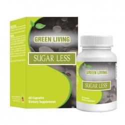Viên uống hạ đường huyết Nature Gift Green Living Sugar Less, Chai 60 viên