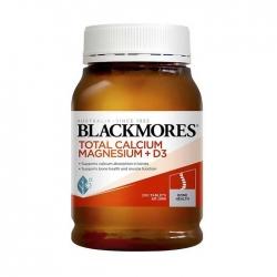 Viên Uống Hỗ Trợ Bổ Sung Total Calcium & Magnesium + D3 Blackmores, 200 viên