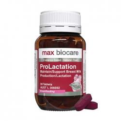 Viên uống hỗ trợ sản xuất sữa Max Biocare ProLactation 30 viên