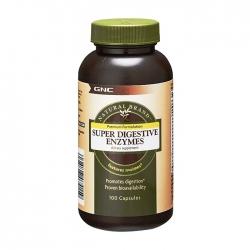 Viên uống hỗ trợ tiêu hóa GNC Super Digestive Enzymes 100 viên