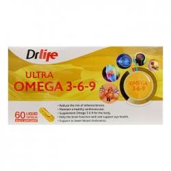 Drlife Ultra Omega 369, Hộp 60 Viên