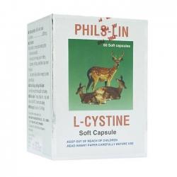 Thuốc làm đẹp Phil Interpharma L Cystine, Hộp 60 viên