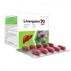 Mediphar USA  Livergalon 70 MDP, Hộp 100 viên Nang