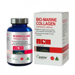 Viên uống ngăn ngừa lão hóa, giảm nếp nhăn da Careline Bio Marine Collagen 60 viên