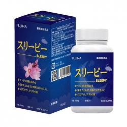 Viên uống ngủ ngon Fujina Sleepy 80 viên