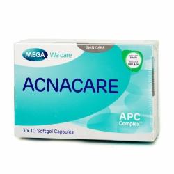 Viên uống ngừa mụn Acnacare, Hộp 3 vỉ 10 viên