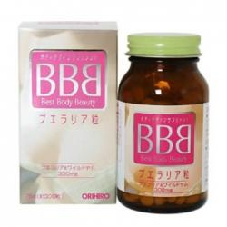 Viên uống Nở Ngực BBB Orihiro Best Beauty Body | Chai 300 viên
