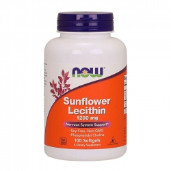 Viên Uống Now Foods Sunflower Lecithin 1200mg 100 viên