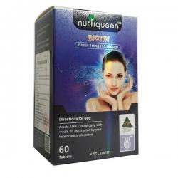 Viên uống Nutriqueen Biotin For Hair And Nail, Hộp 60 Viên