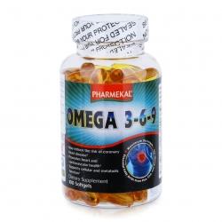 Tpbvsk Dầu cá  Pharmekal Omega 369, Chai 100 viên
