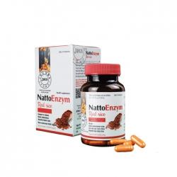 Viên uống phòng chống đột quỵ Nattoenzym Red Rice 60 viên