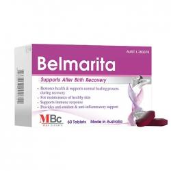 Viên uống phục hồi sức khỏe sau sinh Max Biocare Belmarita 60 viên