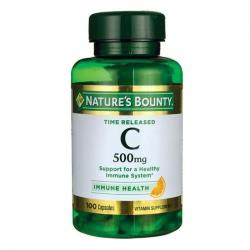 Viên uống sung Vitamin C Nature's Bounty Time Released C 500mg 100 Viên