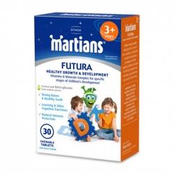 Viên uống tăng cường đề kháng cho bé Martians Futura 30 Viên