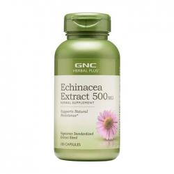 Viên uống tăng cường miễn dịch GNC Echinacea Extract 500mg 100 viên