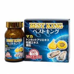 Viên uống tăng cường sinh lý nam Best King Jpanwell 60 viên