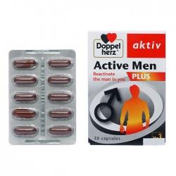 Viên uống tăng cường sinh lý nam Doppelherz Active Men Plus 30 viên