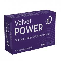Viên uống tăng cường sinh lý nam Velvet Power 1h, 2x4 Viên