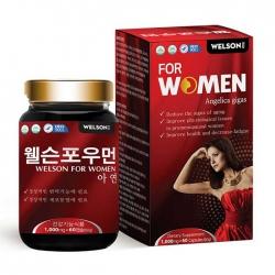 Viên uống tăng cường sinh lý nữ Welson For Women Hộp 60 viên