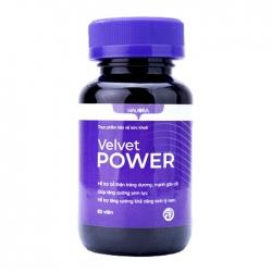 Viên uống tăng cường sinh lý Velvet Power, Hộp 60 viên