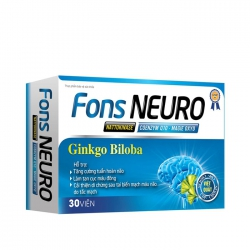 Viên uống tăng cường tuần hoàn não Lafon Fons Neuro 30 viên