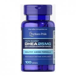 Viên uống tăng nội tiết tố nữ Puritan's Pride DHEA 25mg Chai 100 Viên