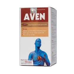 Viên uống tim mạch Aven, Fruitflow (chiết xuất từ cà chua) 25mg, Hộp 30 viên