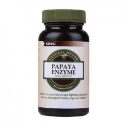 Viên uống tốt tiêu hóa GNC Papaya Enzyme 90 viên
