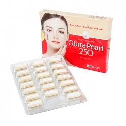 Viên uống trắng da Gluta Pearl 250 - Hộp 20 viên