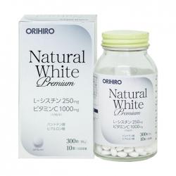 Viên uống trắng da Natural white Orihiro 300 viên