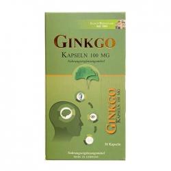 Viên uống tuần hoàn não Ginkgo Kapselin 100mg 30 viên