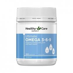 Viên uống bổ sung Healthy Care Ultimate Omega 369  giúp bổ tim mạch