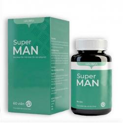 Viên uống Vitamin tổng hợp Super Man, Lọ 60 viên