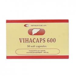 Vihacaps 600mg Minskintercaps 5 vỉ x 10 viên