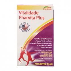 Tpbvsk Vitalidade Pharvita Plus, Chai 30 viên