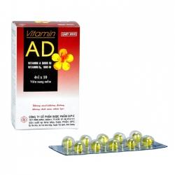 VITAMIN A D phòng và điều trị thiếu vitamin A D