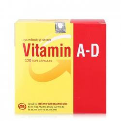 Tpbvsk Vitamin AD Gold Phúc vinh | Hộp 100 viên