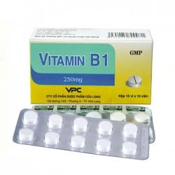 VPC Vitamin B1 250mg, Hộp 100 viên