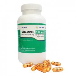 Imexpharm Vitamin C 500mg, Chai 200 viên