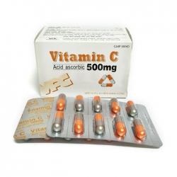 VPC Vitamin C 500mg, Hộp 100 viên