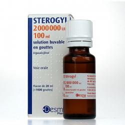 Vitamin D Sterogyl 100ml chống còi xương cho bé